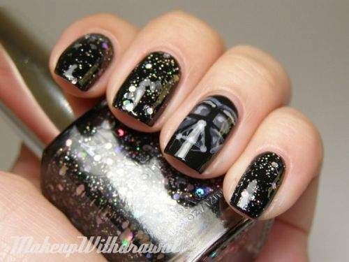 unhas Darth Vader star wars