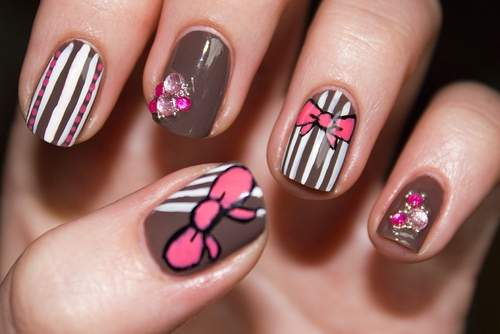 unhas curtas decoradas 15 - OK