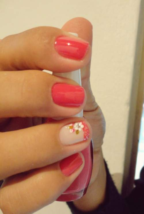 unhas decoradas curtas  16 - OK