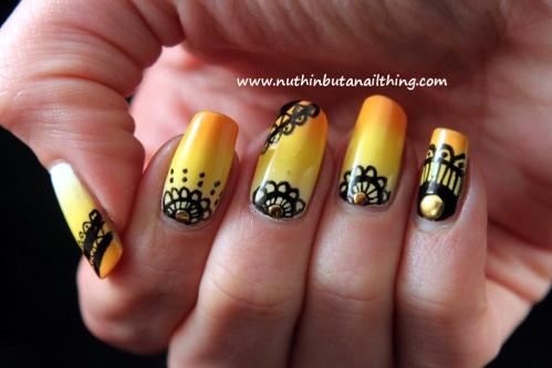 Unhas decoradas com canetas nail art - imagem 06 - OK