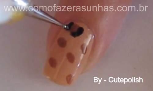 Unhas leopardo - passo a passo - 31
