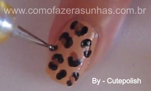 Unhas leopardo - passo a passo 38