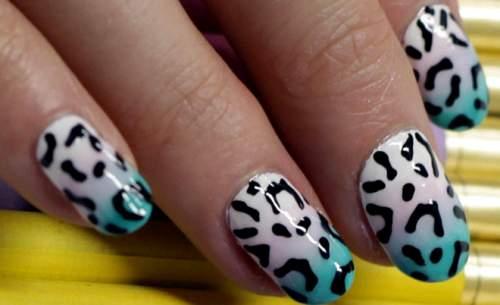 unhas leopardo print 09