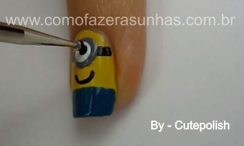Unhas decoradas Minion - Meu malvino favorito - 18