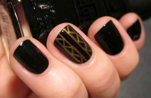 Fotos de unhas decoradas - unhas geometricas - 06