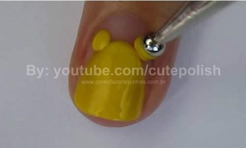 Unhas Ursinho Pooh 05
