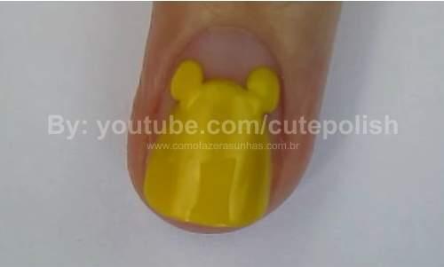 Unhas Ursinho Pooh 08