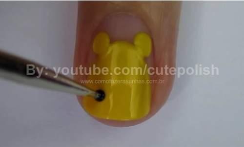 Unhas Ursinho Pooh 09