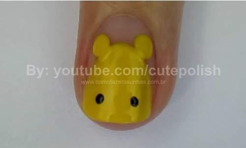 Unhas Ursinho Pooh 10