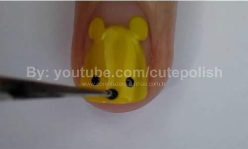 Unhas Ursinho Pooh 11