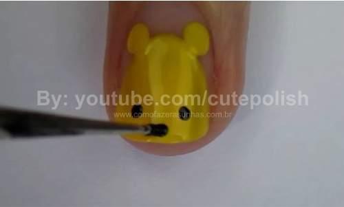 Unhas Ursinho Pooh 12