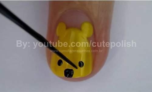 Unhas Ursinho Pooh 13