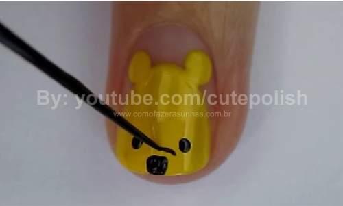 Unhas Ursinho Pooh 14