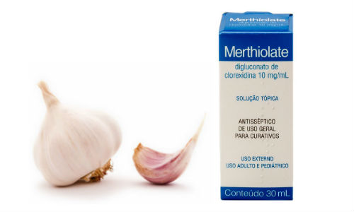 Micose de Unha - Tratamento com Remédio caseiro  - merthiolate e alho