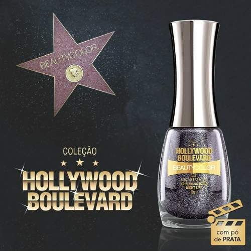 Esmaltes: Coleção Hollywood Boulevard - Beauty Color - night