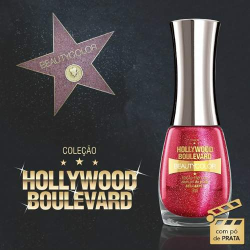 Esmaltes: Coleção Hollywood Boulevard - Beauty Color - red