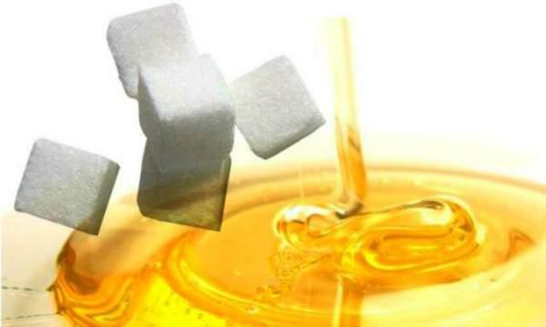 Como fazer um creme esfoliante para os pés - açucar e mel - Copia