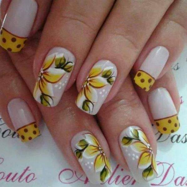 Fotos De Unhas Decoradas Flores