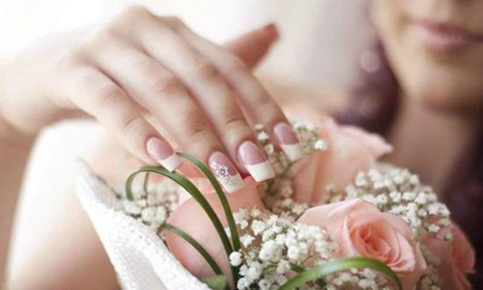 como fazer unha decoradas para noivas