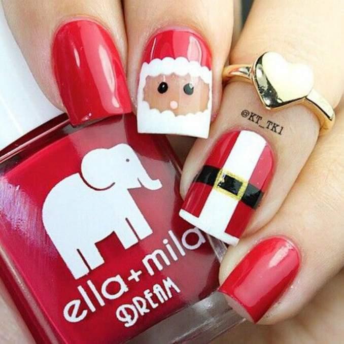 Unhas Decoradas Natal 07