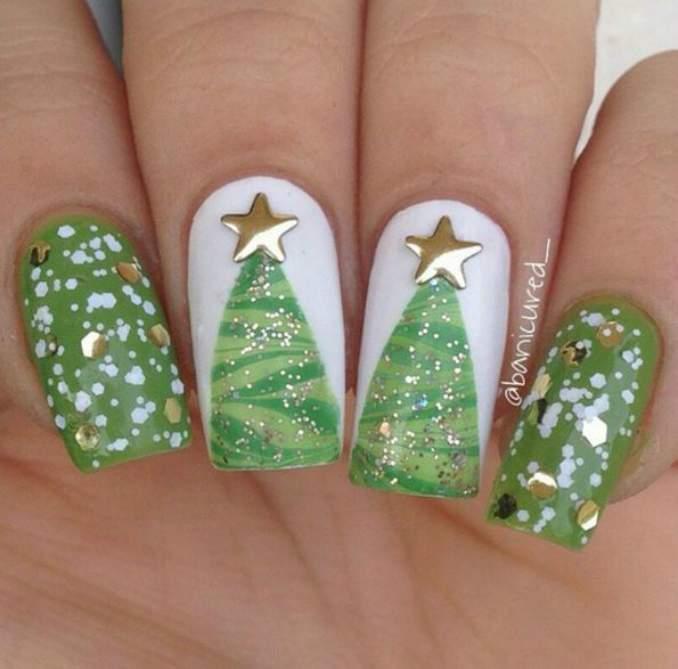 Unhas Decoradas Natal 39