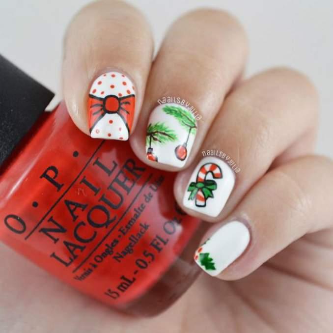 Unhas Decoradas Natal 44