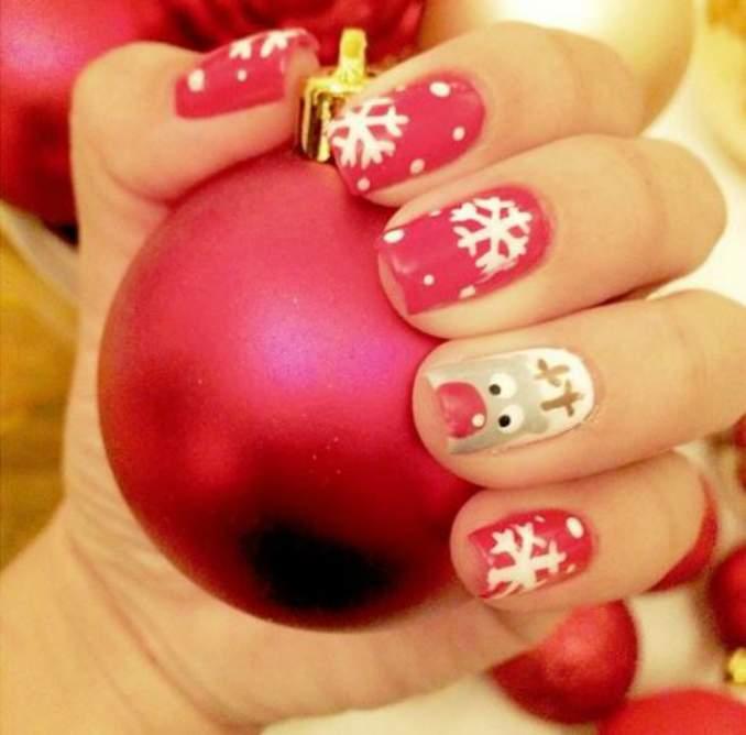 Unhas Decoradas Natal 77