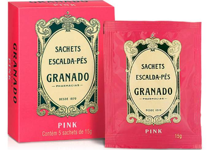Sachets Escalda Pés - Linha Pink da Granado
